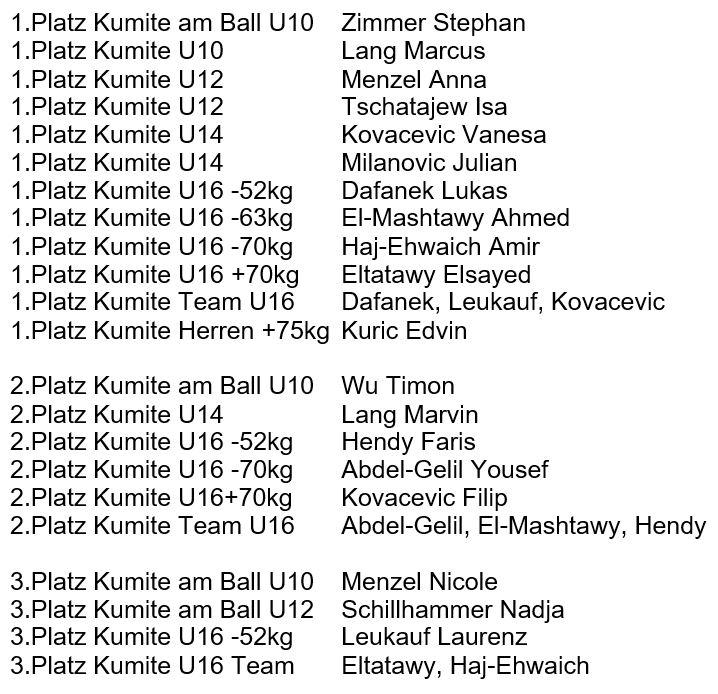 Wiener ASKÖ LM 2016 Kumite