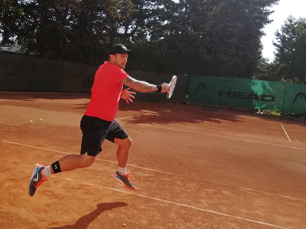 Jochen Brunnhuber am Tennis FFC-Cup 2018