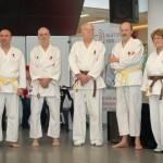 """Karate Vorführung bei """"Seniorentage Riverside"""""""