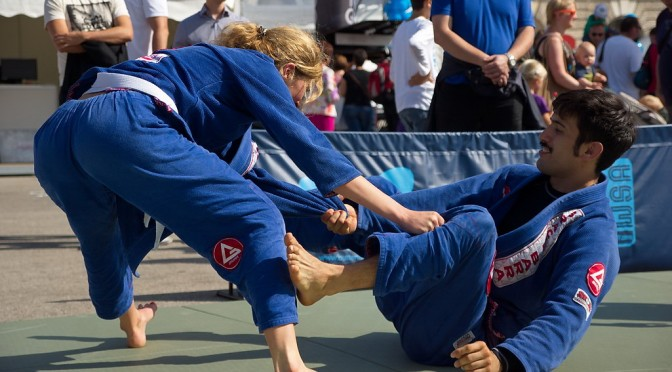 Tag des Sports 2014 – Jiu Jitsu
