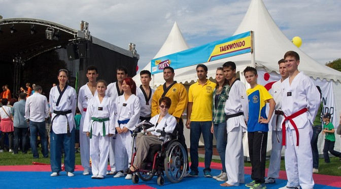 Tag des Sports 2014 – Taekwondo
