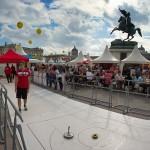 Tag des Sports vor der Wiener Hofburg am 20.09.2014