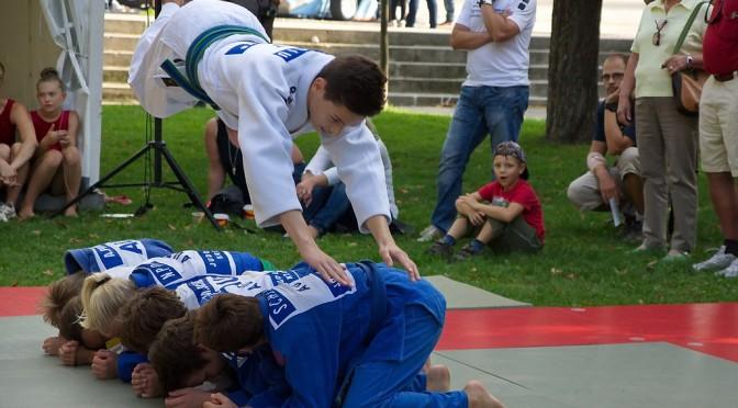 Tag des Sports 2014 – Judo