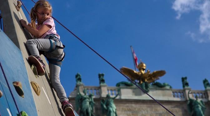 Tag des Sports 2014 – Klettern